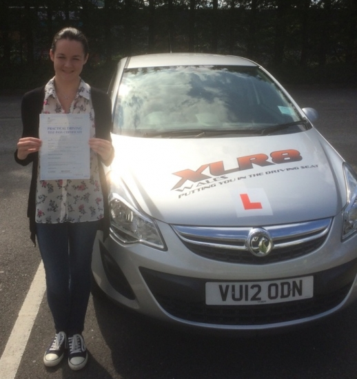 24615 - Another 1st time pass today - this time from our learner Samantha Lawson who took her test today in Merthyr Tydfil Samantha took her driving lessons with Peter and passed with only 4 teeny minors Amazing Result - Well Done