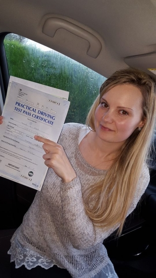 81215 - soooo happpy i passed my driving test today with only 3 minors robacute;s paitence and understanding helped me so much he really is a brilliant driving instructor i would definatley recommened 150 <br />