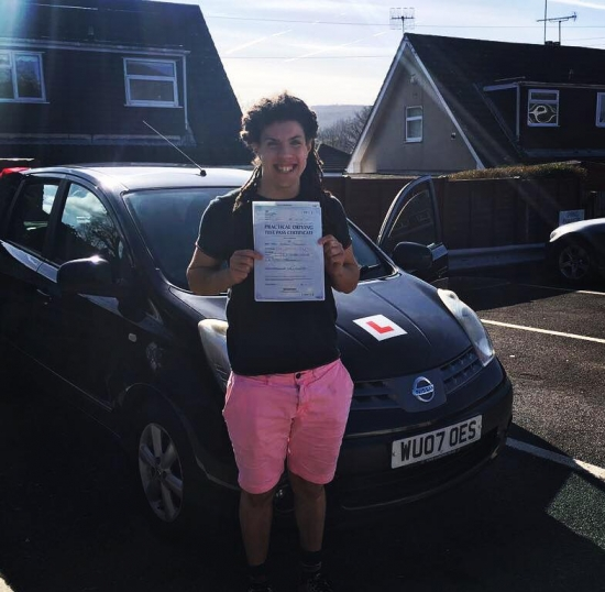 232017 - A massive congratulations to Sean for passing his automatic driving test today in Abergavenny First time and with just 3 tiny minors All of your hard work and dedication has paid off