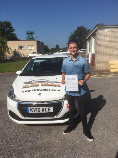 Congratulations to Shane Perry on passing his driving test today in Brecon with 3 minors With our Peter... what a lovely result