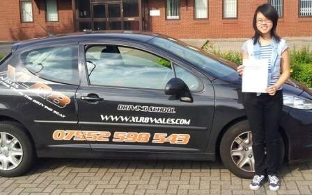 Well done Sidi on passing your driving test today in Cardiff First time and in just 20 hours too Fantastic result Now you can concentrate on your Oxford University Studies