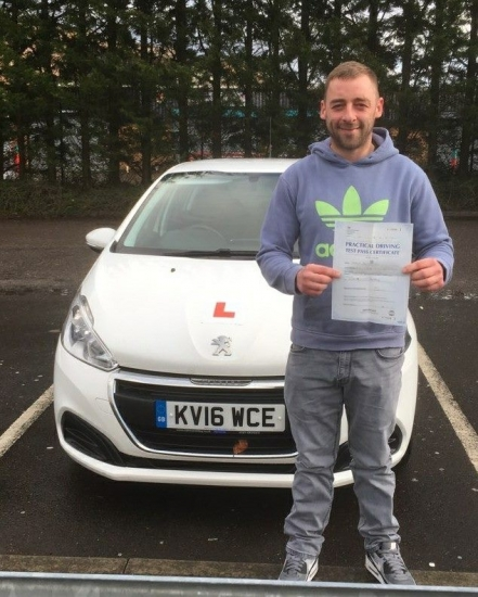 14.2.18 - Congratulations goes out to Steve Berryman who passed 1st time after taking up a 1 week intensive course with our Peter Watts!!!