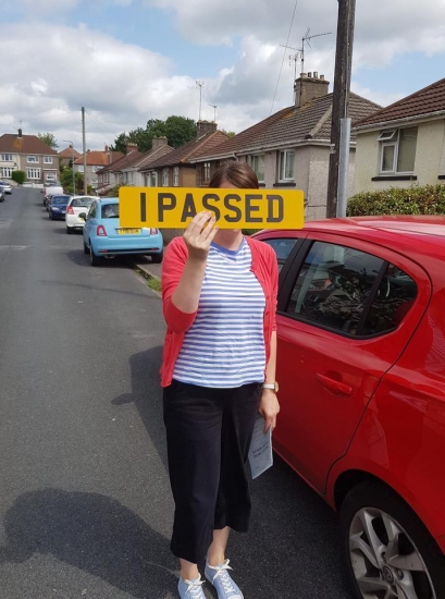 31.7.19 - Congratulations to Tanya Williams on passing her automatic driving test today first time in Abergavenny with our Rhys!!!! Well done and safe