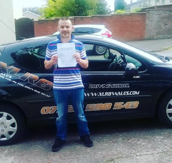 22916 - Congratulations Tezzy on passing your manual driving test yesterday in Newport with just 1 tiny minor Absolutely brilliantwell done mate