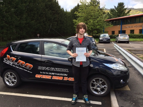 090514 Well done to Ben Hooper on passing his driving test first time at Merthyr Tydfil after only 23 hours See you soon for pass plus
