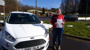 7.3.18 - Congratulations to Danielle Bray on passing her test today in Merthyr Tydfil now it´s time to enjoy your freedom!
